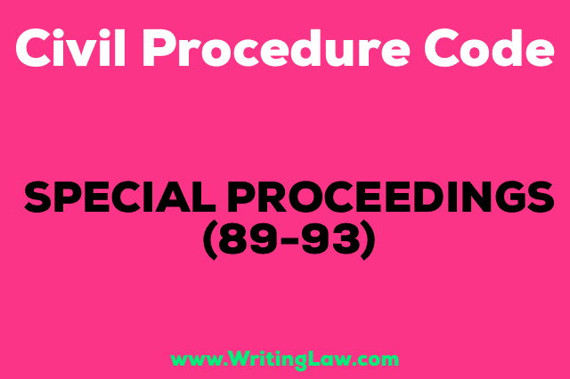 SPECIAL-PROCEEDINGS CPC