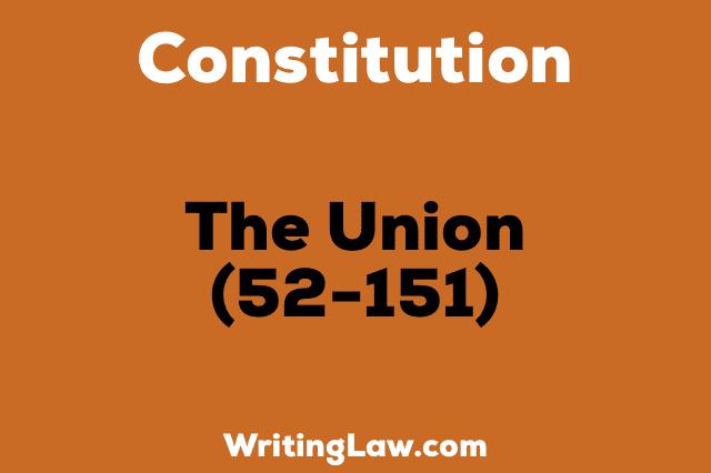 THE-UNION Constitution of India