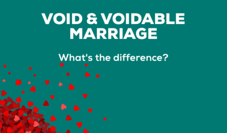 Difference between Void and Voidable Marriage
