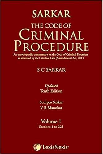 CrPC by SC Sarkar