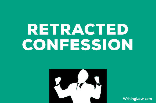 Retracted Confession