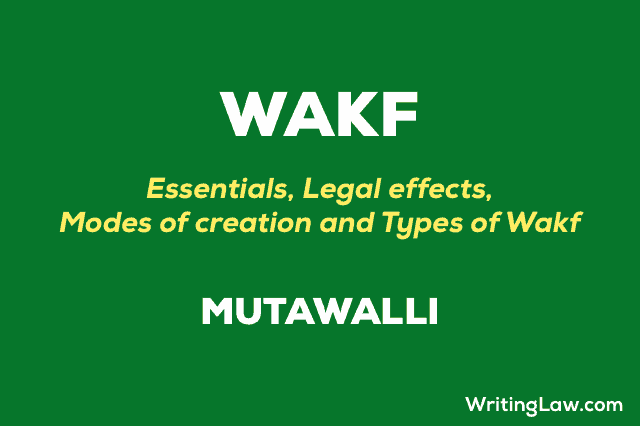 What is Wakf