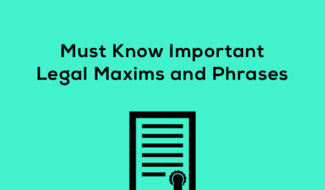 Legal Maxims for CLAT Judiciary Law Exams