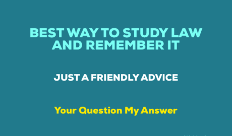 Tips to study law in India and remember it