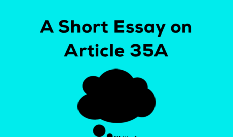 Essay on Article 35A