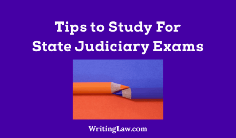 How to Study for State Judicial Exam