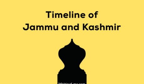 Timeline of Jammu and Kashmir