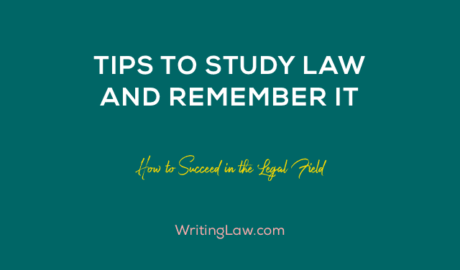 Tips to Study Law