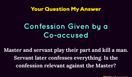 Confession by a Co-Accused