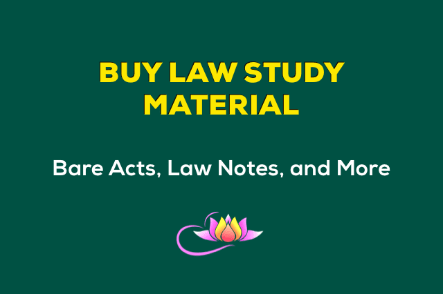 Law Study Material