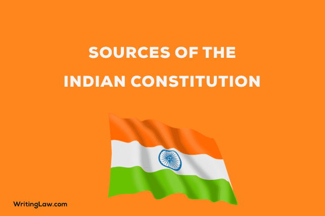 Sources of the Indian Constitution