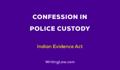 Confession in Police Custody
