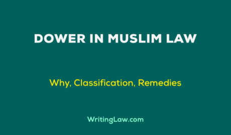 Dower in Muslim Law