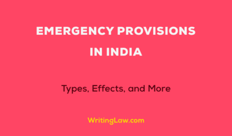 Emergency Provisions in India