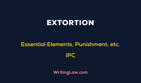 Extortion in the Indian Penal Code