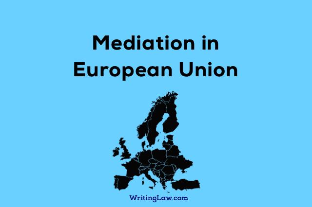 Mediation in European Union