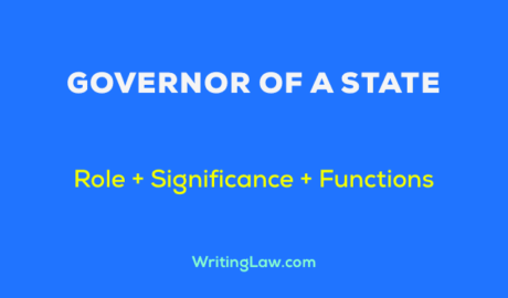 Role, Significance, and Functions of Governor