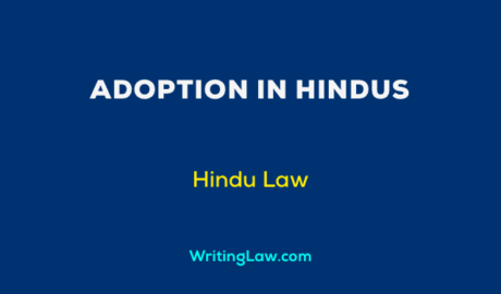 Rules for Adoption in Hindus
