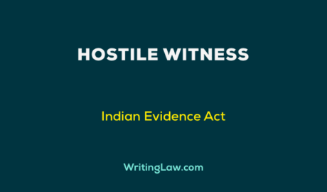 What is Hostile Witness
