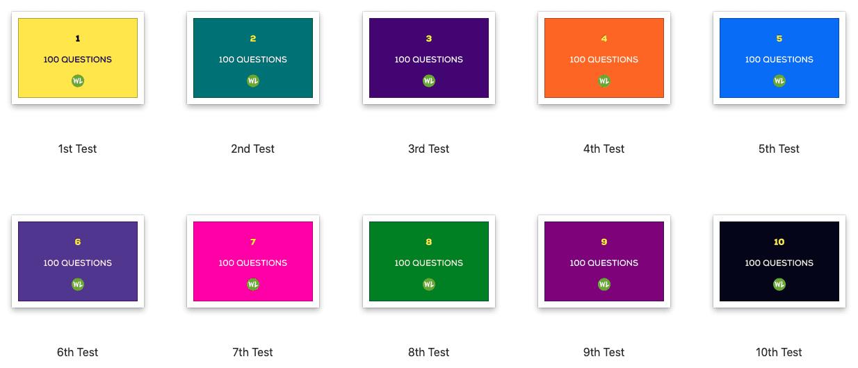10 Law MCQ Tests