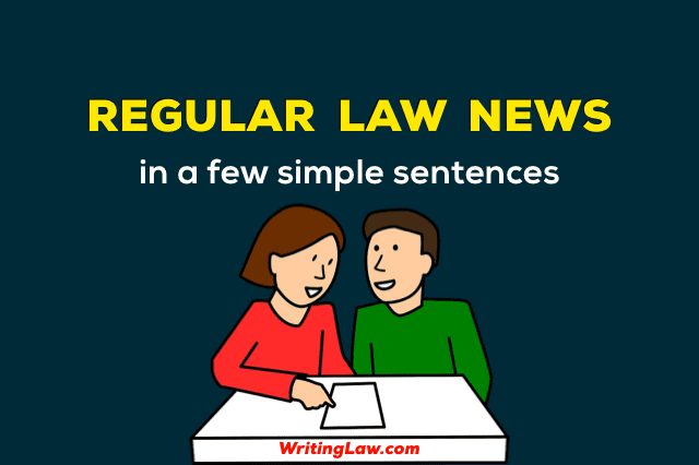 Law News for Law Students and Legal Exams