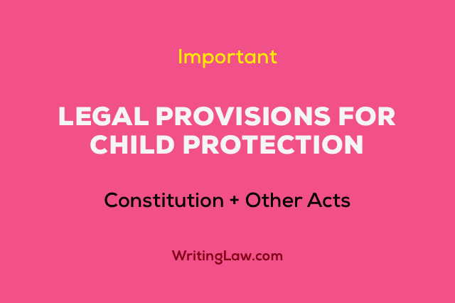 Laws and Policies for Protection of Children in India