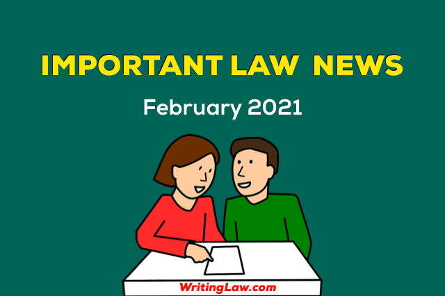 February 2021 - Law News for Students and Advocates