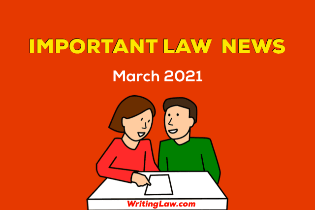 March 2021 - Law News for Students and Advocates