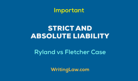 Strict and Absolute Liability Explained