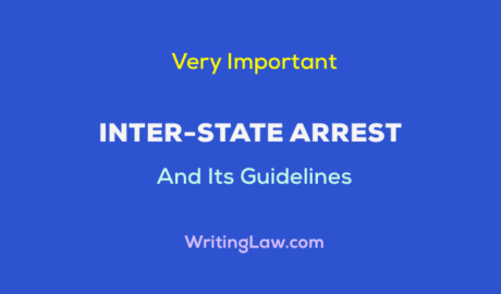What is Inter-State Arrest and its Guidelines