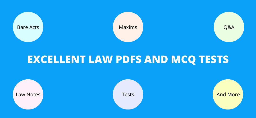 Law PDFs and Law MCQ Tests