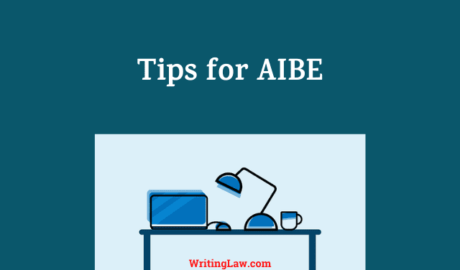 Tips, Syllabus, Exam Date, Bare Acts and MCQ Tests for AIBE