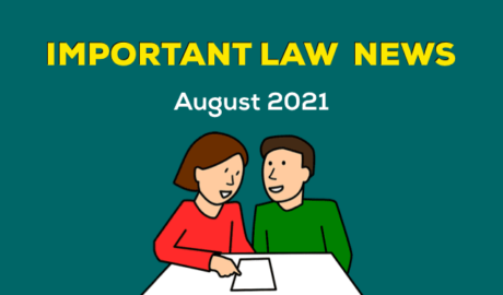 August 2021 Law News for Students and Advocates