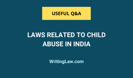 Laws Related to Child Abuse in India