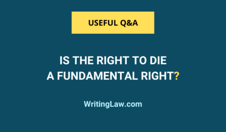 Is the Right to Die a Fundamental Right?