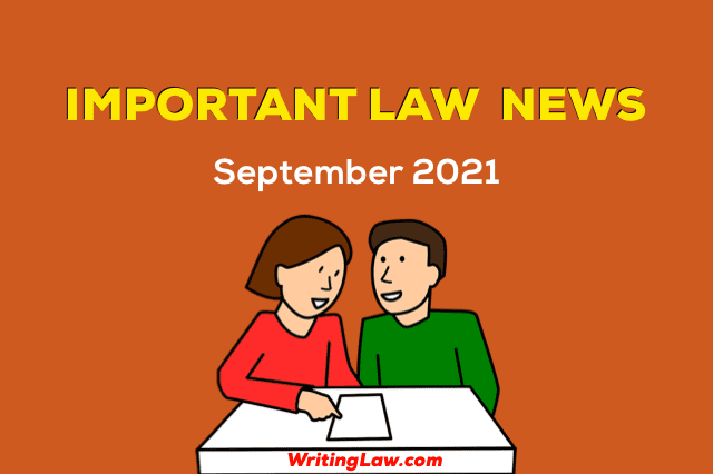 September 2021 - Law News for Students and Advocates