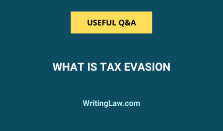 What Is Tax Evasion